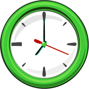 wall_clock_1_green