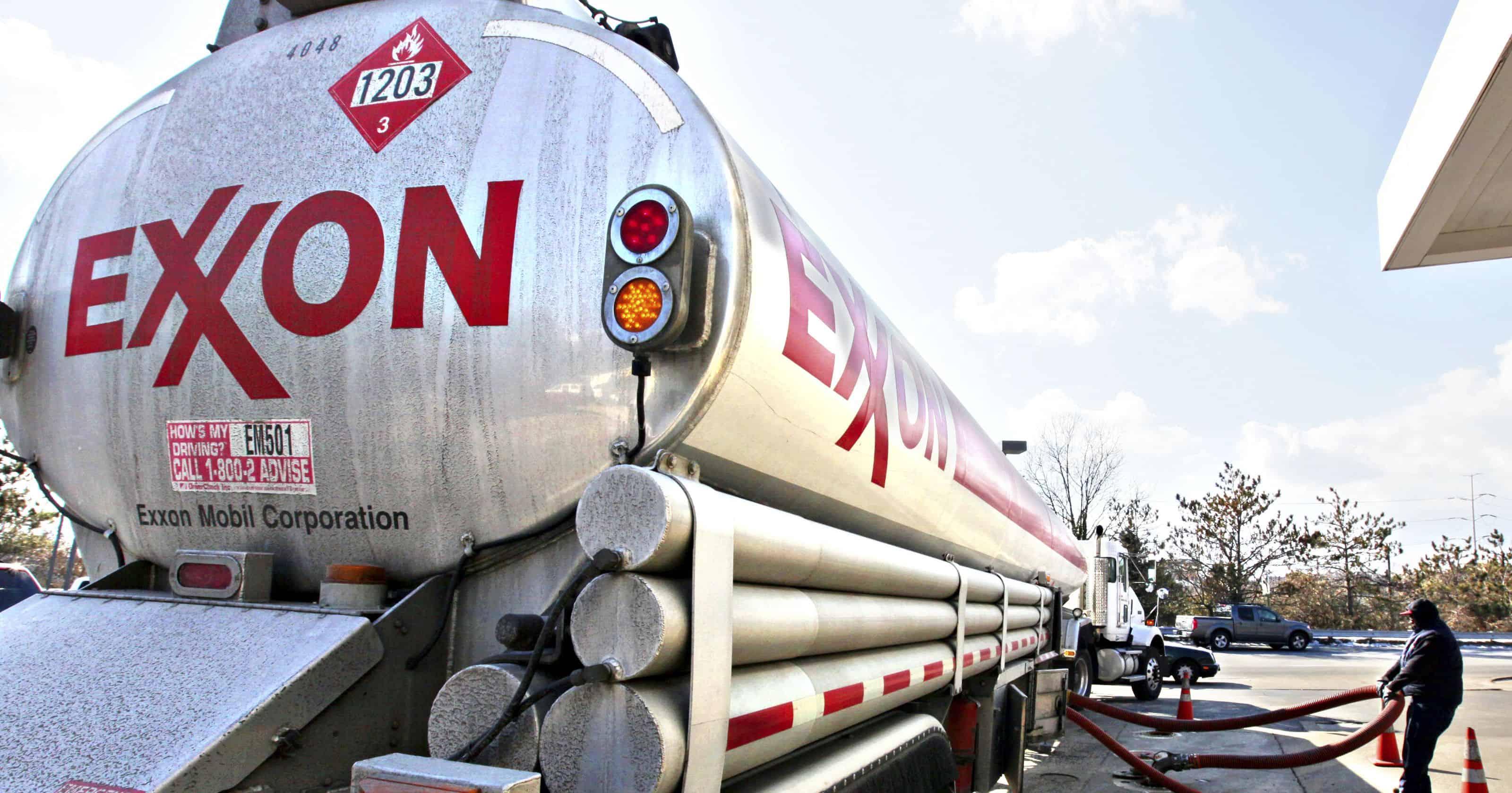 ExxonMobil oil car