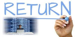 how to calculate total return, total return formula