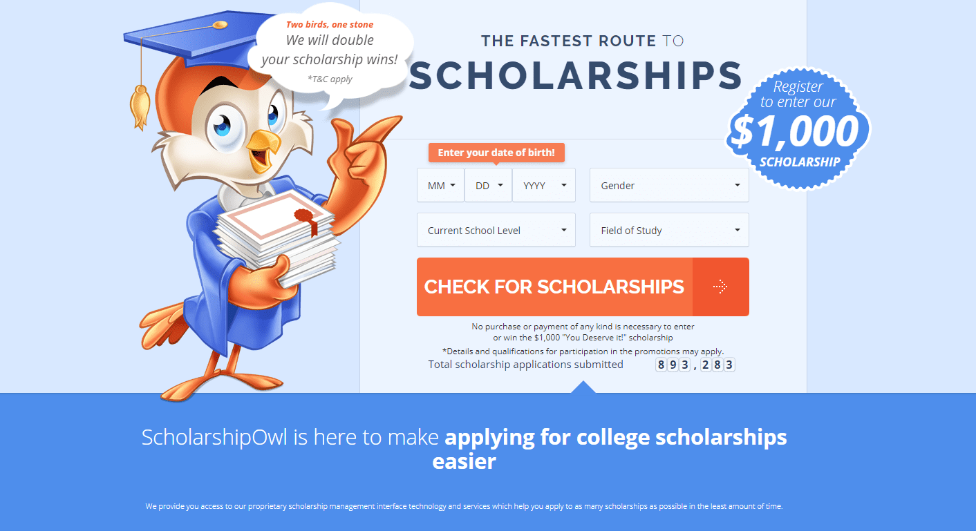 ScholarshipOwl Review: Find and Apply for Great Scholarships